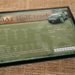 M3 Halftrack Data Card