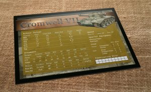 Cromwell VII Data Card