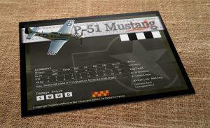 P-51 Mustang Data Card