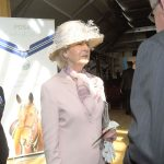 HRH Princess Alexandra at presentation and Exhibition, showcasing the Order of Merit recipients