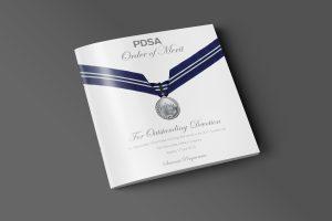 Order of Merit Awards Brochure Cover
