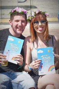 Young Couple at the inaugural PDSA Petlife