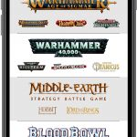 GW Companion App Home Screen
